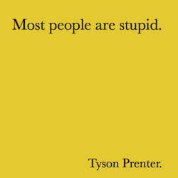 Book Title: Most People are Stupid.